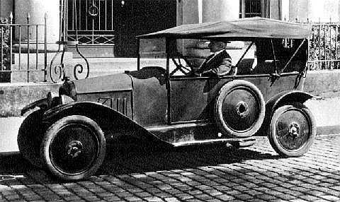 10 HP Type A Torpédo 1919 photo officielle