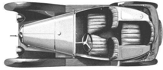 5 HP Torpedo Trèfle 3 places 1924