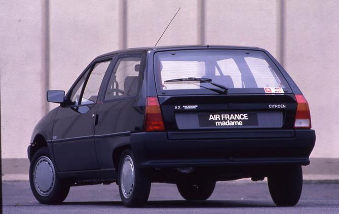 AX Air France Madame 3 doors 1988 rear 3/4