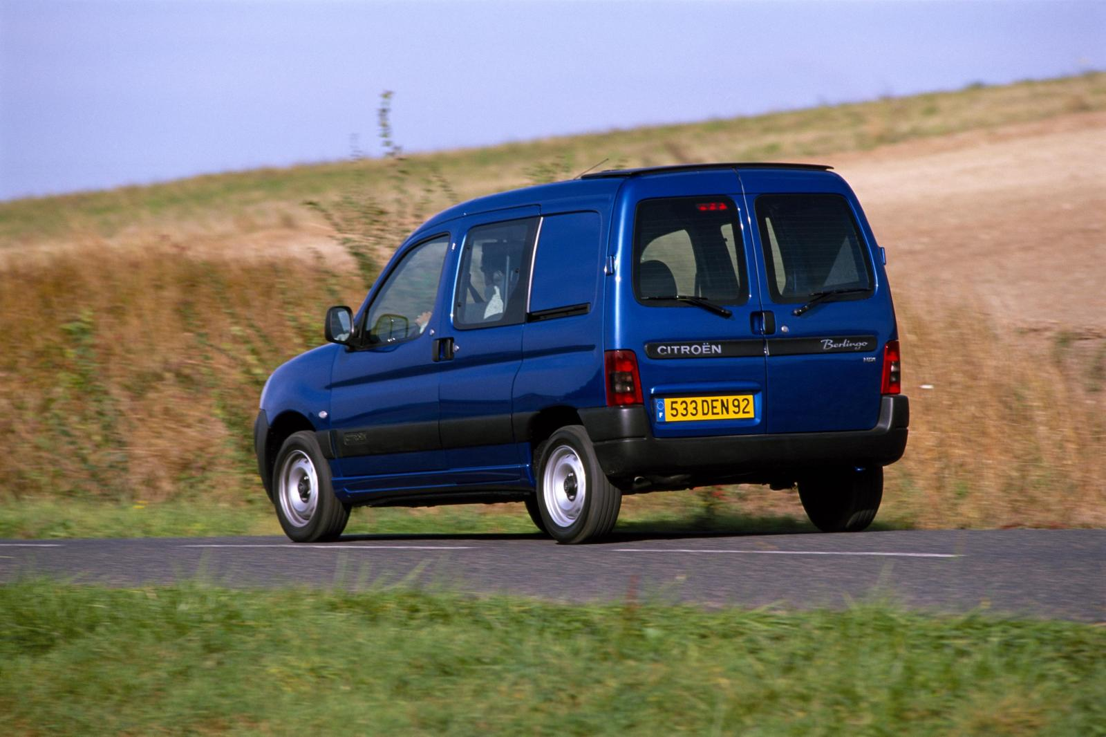 Berlingo 2002 rear 3/4