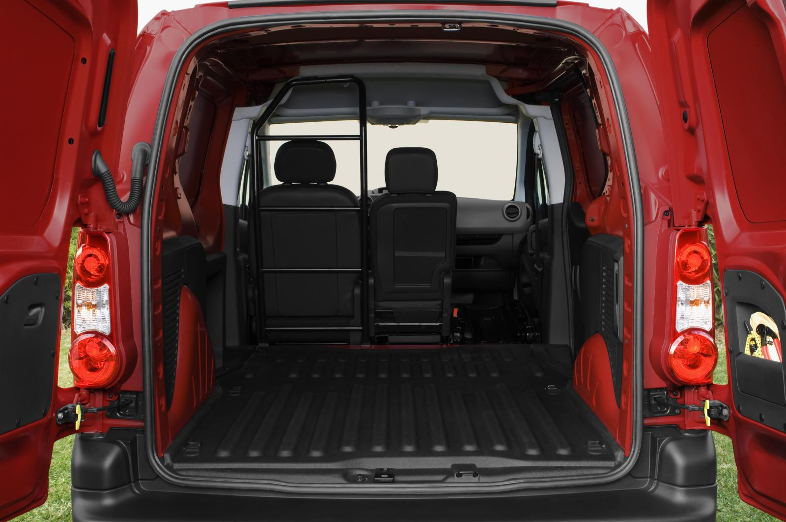 Berlingo 2008 seat folded down