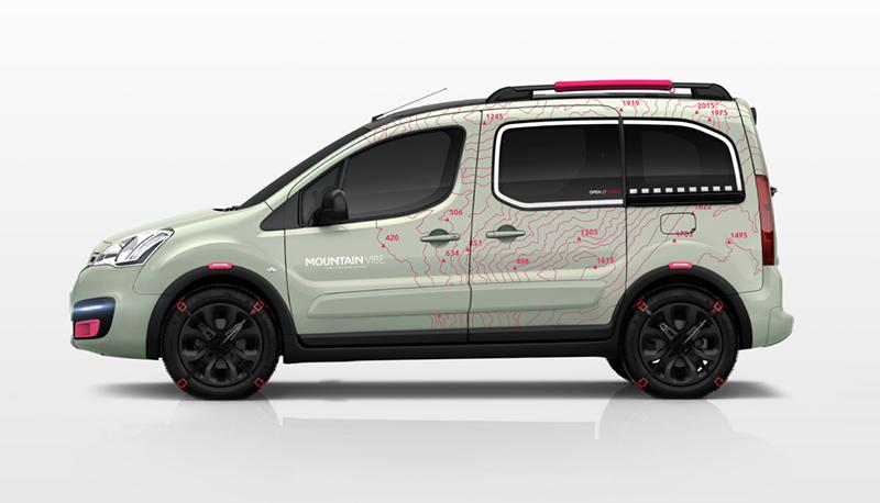 Berlingo Mountain Vibe 2015 lateral