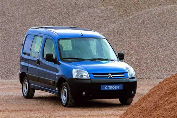 Berlingo van 2002 reshaped