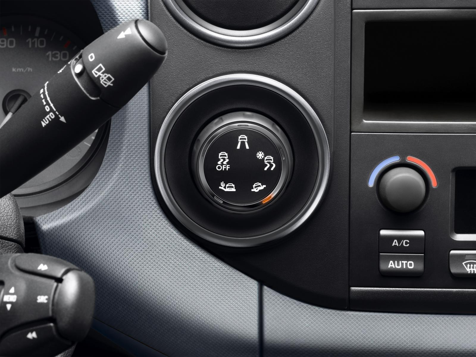 Berlingo van 2015 grip controls
