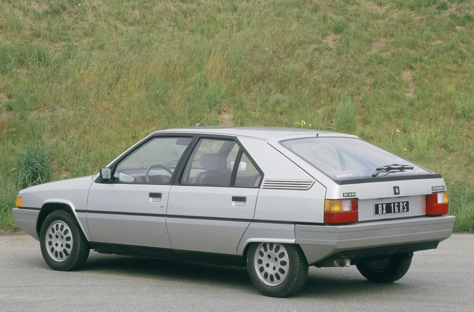 BX 16 RS 1985 3/4 front
