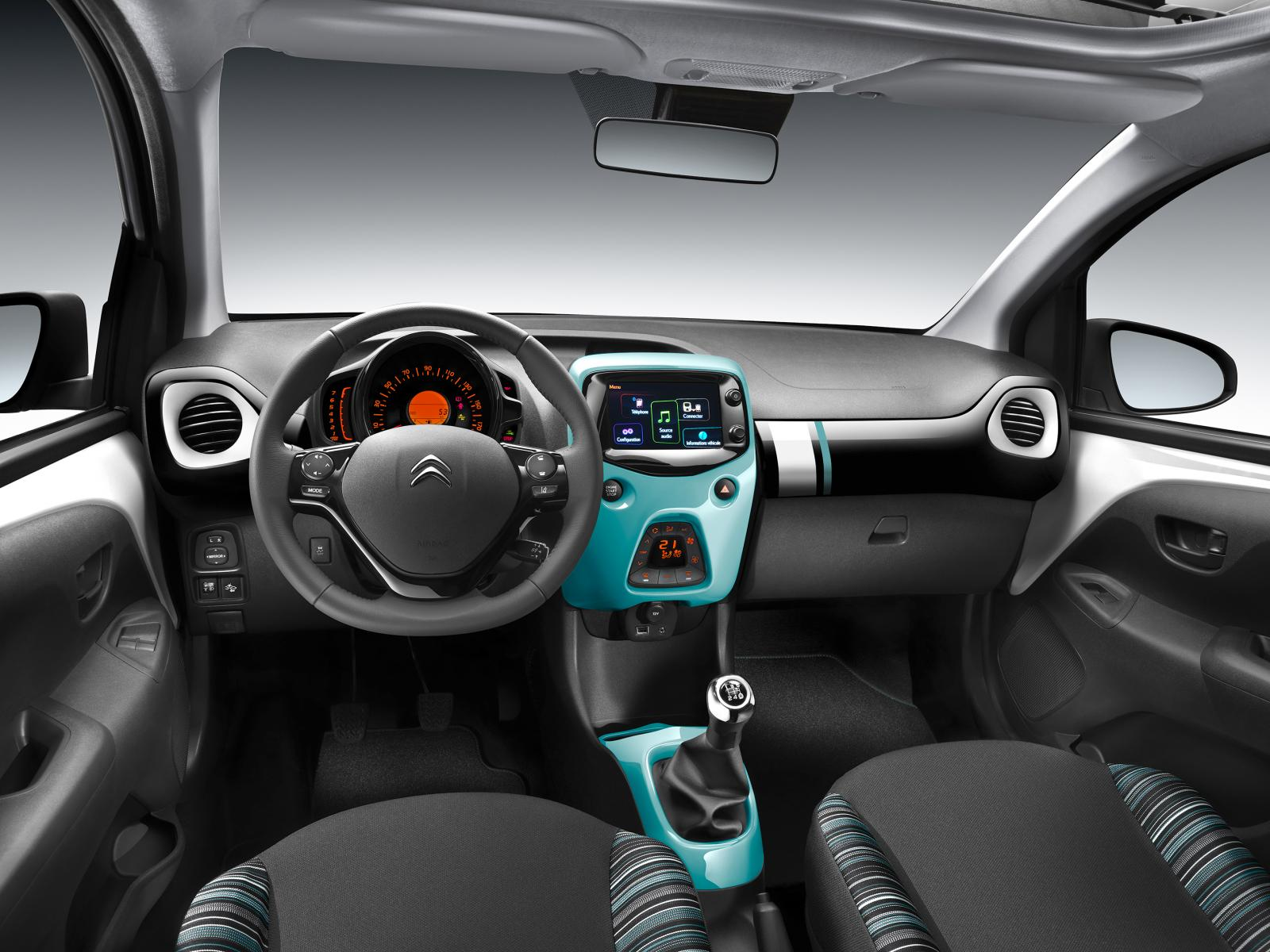 C1 Airscape Feel Edition 2016 interior Pack Color Blue Lagoon