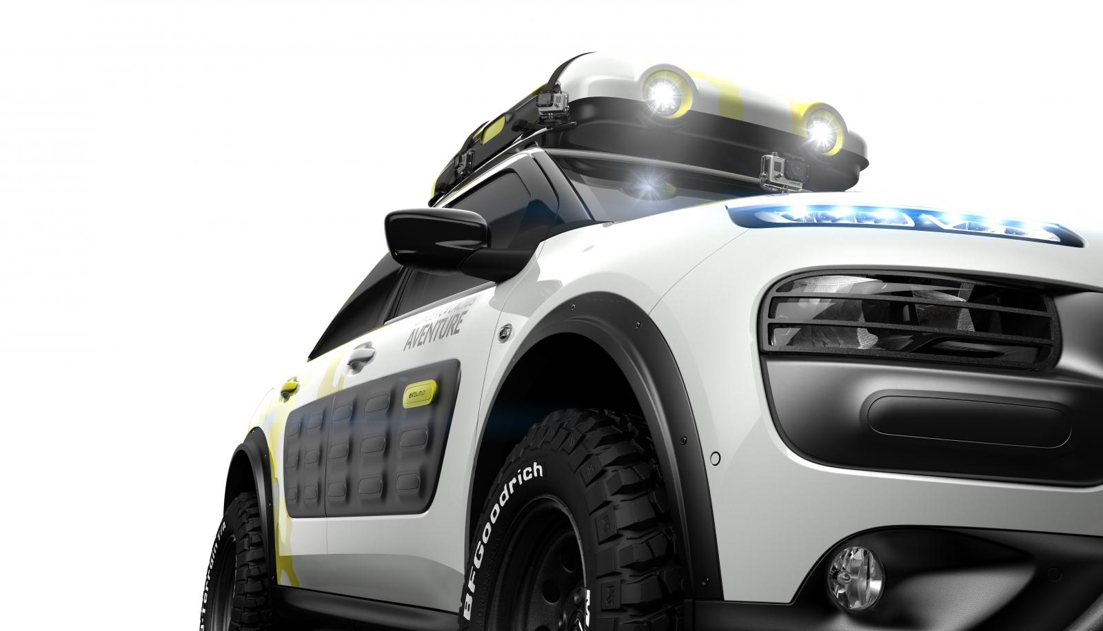 Concept-car C4 Cactus Adventure 2014 front