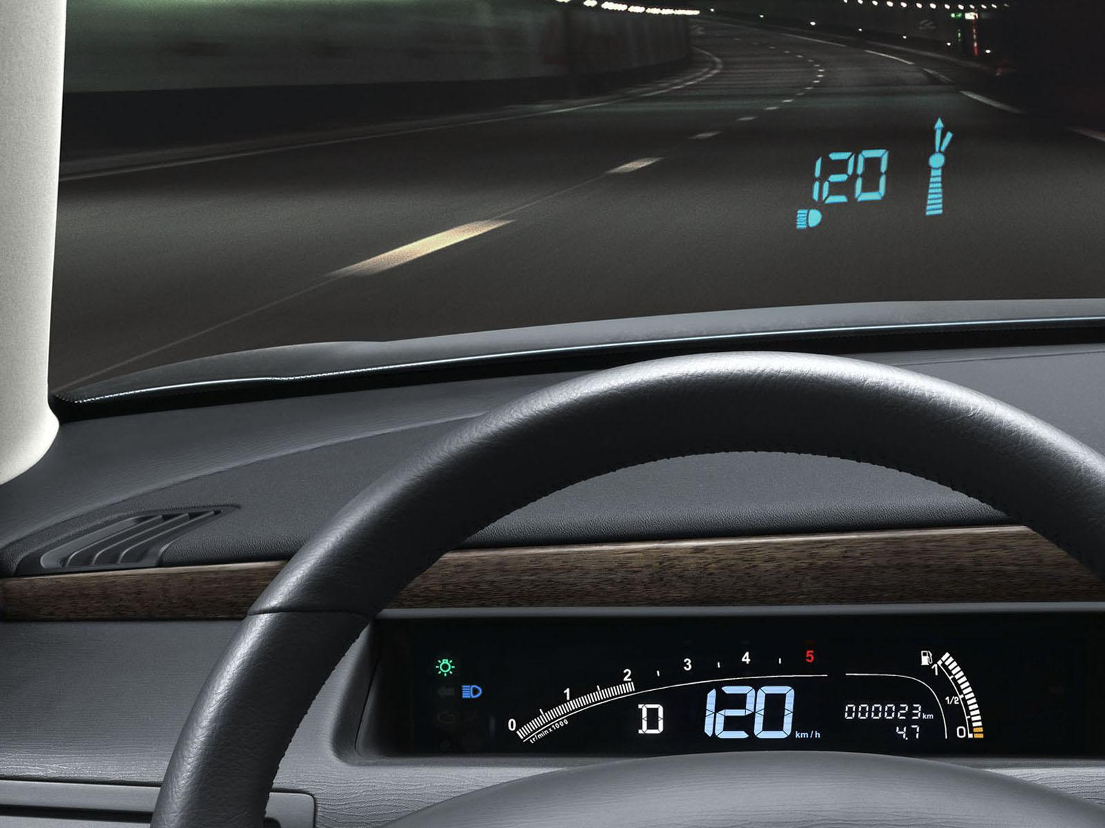 C6 V6 HDi Exclusive 2005 head-up display