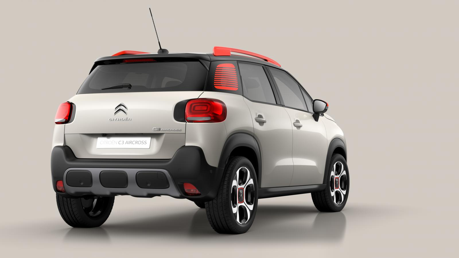 C3 Aircross Compact SUV - 3/4 Rear