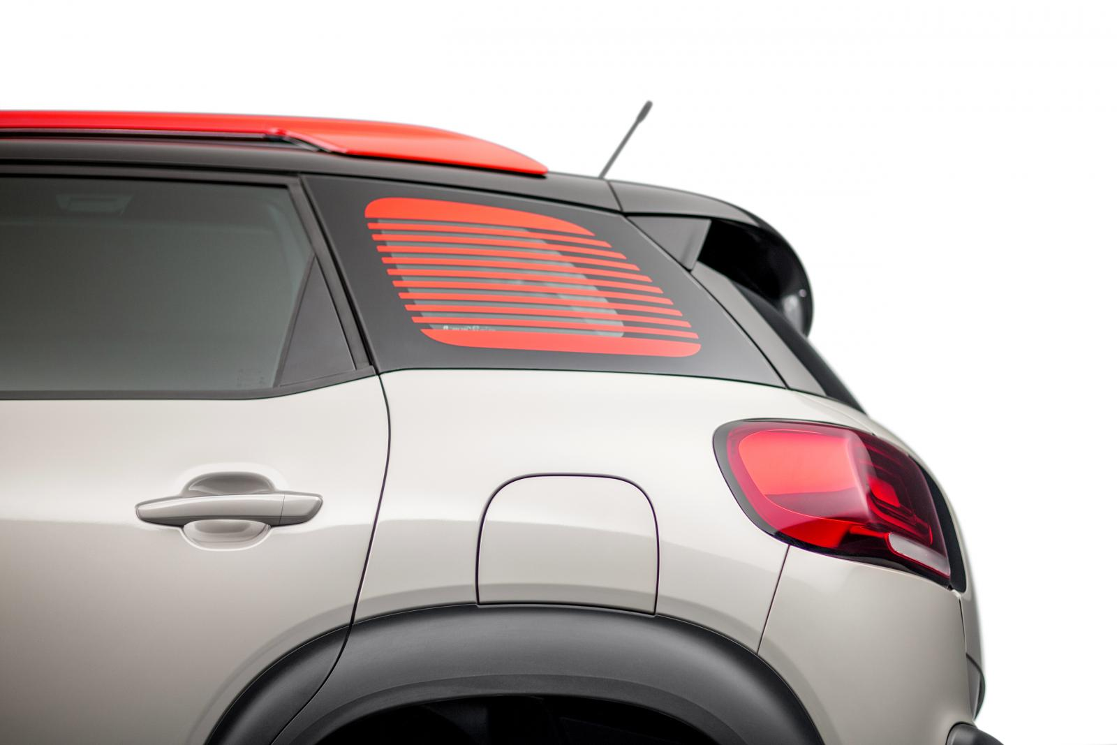 C3 Aircross Compact SUV - Rear view