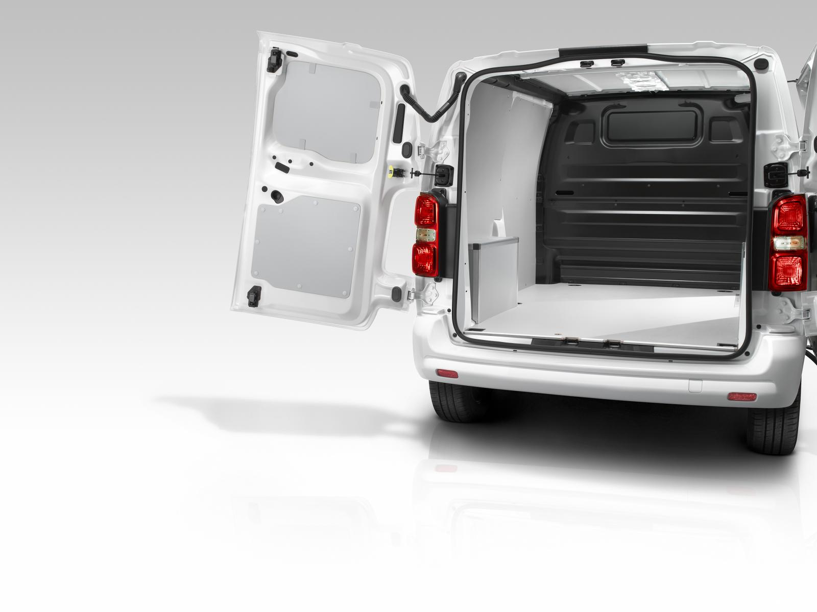 Jumpy 3rd generation 2016 rear doors