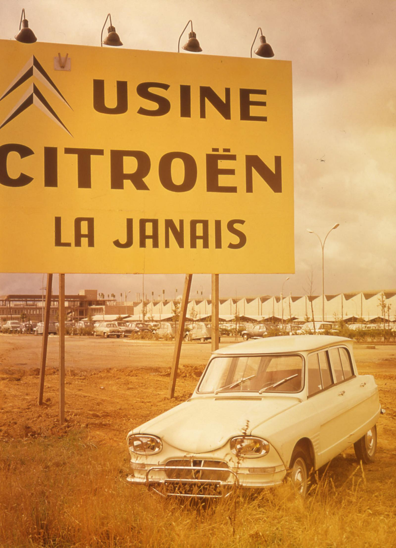 AMI 6 1965 factory of Rennes