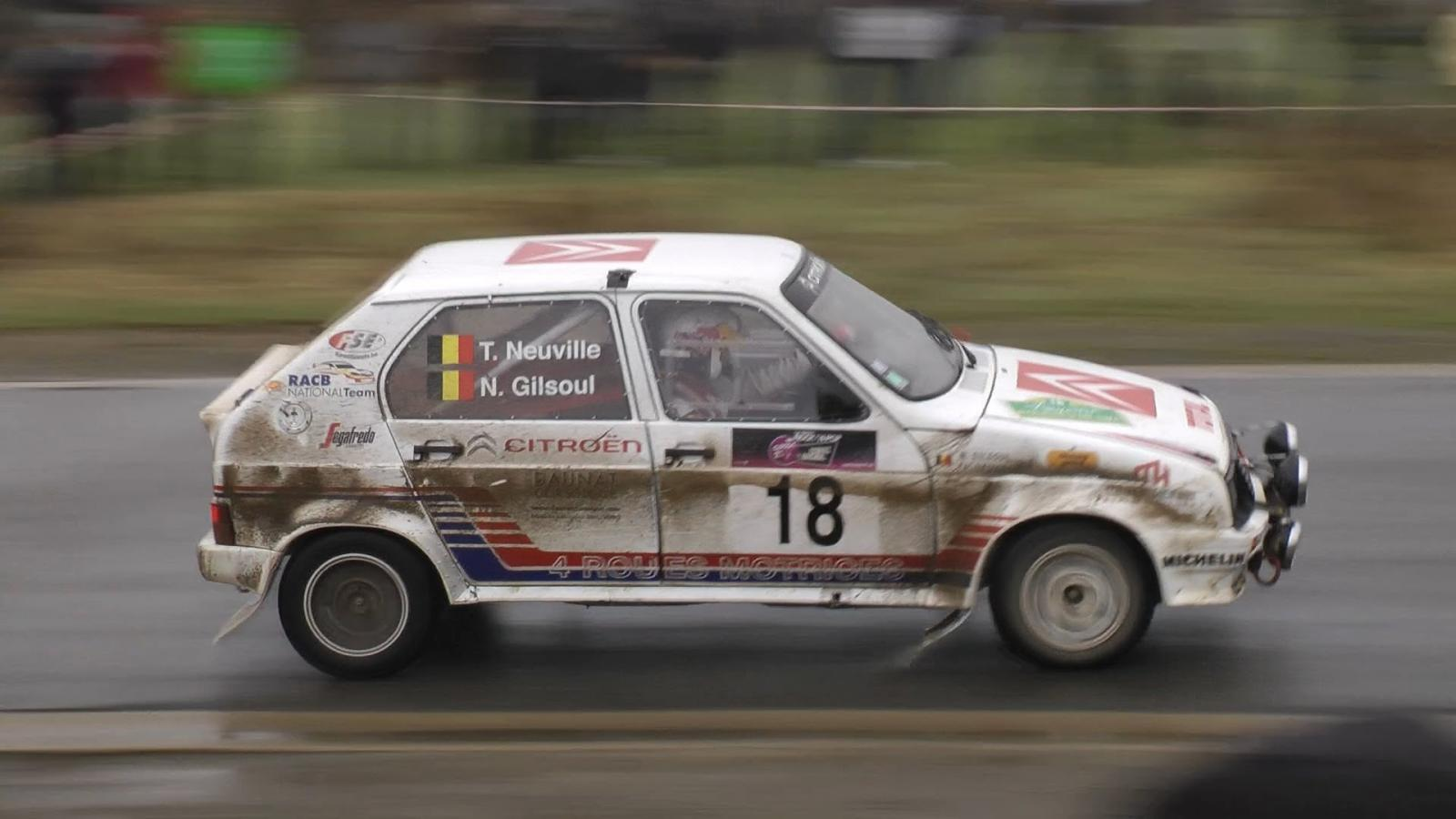 Visa 1000 Pistes 1984 in classic rally